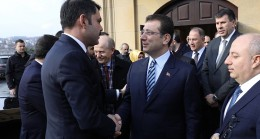 """İBB Başkanı İmamoğlu, """"Çok verimli, yerinde bir toplantı oldu"""""""