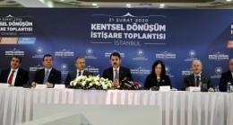 İstanbul'da kentsel dönüşüm süreci, Kurum'un katılımıyla masaya yatırıldı