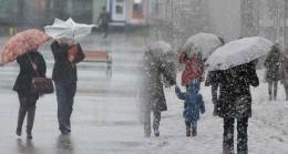 Meteorolojiden kar ve yağmur uyarısı!