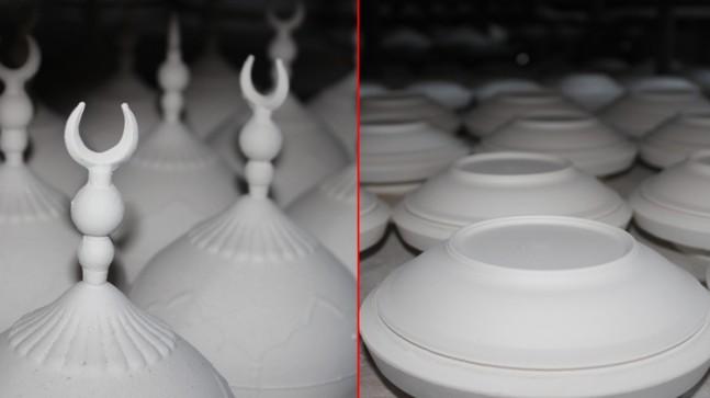 Sultan II. Abdülhamid'in kurduğu eserinde üretimler devam ediyor