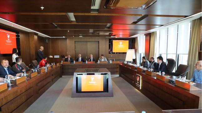 TFF Engelliler Koordinasyon Kurulu, İsmail Erdem Başkanlığında toplandı
