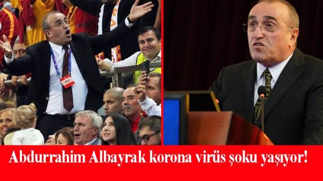 Abdurrahim Albayrak virüsü kaptı!