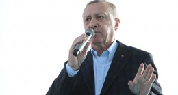 """Başkan Erdoğan, """"Birileri istemese de Kanal İstanbul'u ülkemize kazandırmakta kararlıyız"""""""
