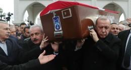 Başkan Erdoğan, RP'li Şevket Kazan'ı Hakk'a uğurladı