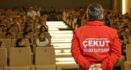 Çekmeköy Belediyesi ekiplerinden öğrencilere ve vatandaşlara afet eğitimi