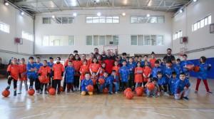 Çekmeköy Belediyesi Kış Spor Okulları devam ediyor