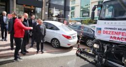 Çekmeköy Belediyesi'nin korona virüse karşı dezenfekte çalışması 7/24 sürüyor