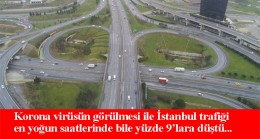 İstanbul trafiğinde tarihi sakinlik