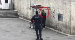 Korona firarisi Taksim'e kaçmış!