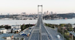 15 Temmuz Şehitler Köprüsü'nde 4 gün böyle görüntü olacak