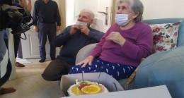 Bahçelievler Belediyesi'nden Fatma teyzeye doğum günü ziyareti