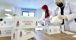 Beyoğlu Belediyesi maske üretiyor