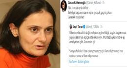 Canan Kaftancıoğlu Cumhurbaşkanı Erdoğan'a hakaret etti!