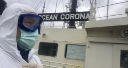 Corona İstanbul Boğazı'ndan geçti
