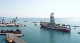 Fatih Sondaj Gemisi, Haydarpaşa Limanı'nda