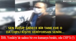İBB, sadece CHP'lilere koli yardımı yapıyor!