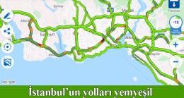 İstanbul'um yolları bomboş