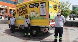 """Beykoz Belediyesi'nden """"Sıfır Atık Taksi"""""""