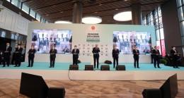 Cumhurbaşkanı Erdoğan, Başakşehir Çam ve Sakura Şehir Hastanesi'ni açtı