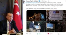 """Erdoğan, """"Solunum cihazları Somalili kardeşlerimize nefes olacak"""""""