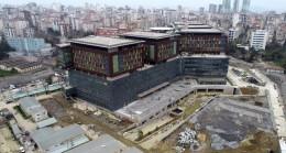 Göztepe Şehir Hastanesi'nin 1. etabı tamam