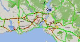 İstanbul trafiğinde yoğunluk arttı