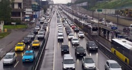 İstanbul trafiğinin hali bu maalesef!