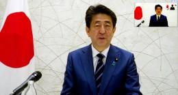 """Japonya Başbakanı Şinzo Abe, """"İlacı Türkiye'ye de bağışlıyoruz"""""""