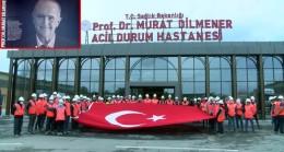 Murat Dilmener pandemi hastanesi açılmaya hazır bekliyor