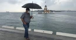 Anadolu Yakası'nda yağmur var