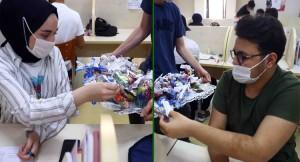 Bağcılar Belediyesi'nden YKS'ye girecek öğrencilere moral motivasyon