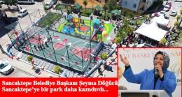 Başkan Döğücü, Safa Mahallesi Parkı'nın açılışını yaptı
