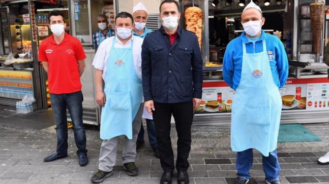 Başkan Yıldız, yeni normalleşme sürecini İstiklal Caddesi'nde takip etti