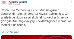 İstanbul Valiliği'nden ciddi uyarı geldi
