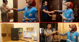 Kağıthane Belediyesi, sınavlara girecek öğrencileri motive etti