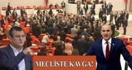 MHP'li Milletvekili Olcay Kılavuz, TBMM'de CHP'li Özgür Özel'i darp etti!