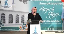 Sancaktepe'de Alaaddinoğlu Camii'nin yeniden yapımı için temel atıldı