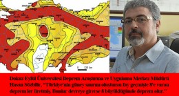 Türkiye'yi 8 büyüklüğünde deprem bekliyor!