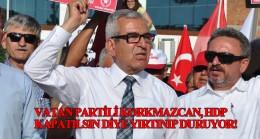 Vatan Partisi'nin darbe sevici ismi Hasan Korkmazcan'dan HDP provokatörlüğü!