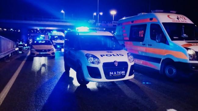Alkollü sürücü E-5 karayolunda zincirleme kazaya sebep oldu