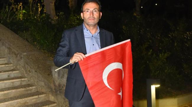 """Başkan Ahmet Cin, """"15 Temmuz'da büyük mücadeleyi halkımız verdi"""""""