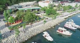 Beykoz Belediyesi sahilleri güzelleştiriyor