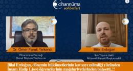 Bilal Erdoğan, Cihannüma Sohbetleri'nin konuğu oldu