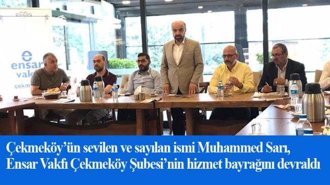 Çekmeköy Ensar, Muhammed Sarı'ya emanet
