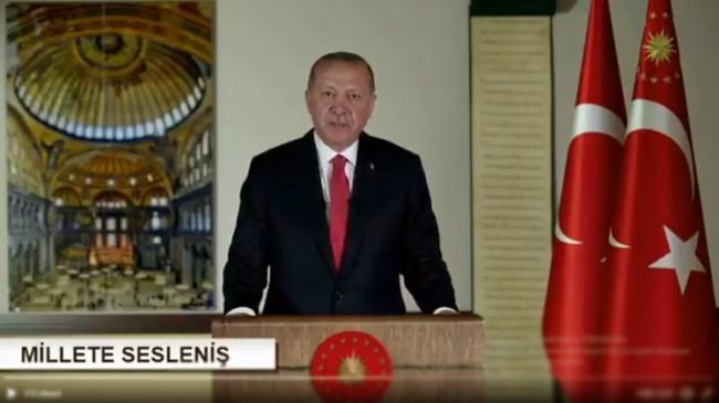 """Cumhurbaşkanı Recep Tayyip Erdoğan, """"Fatih'in Vakfiyesi bizim için asıldır"""""""