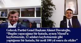Davutoğlu da Kanal İstanbul'a karşı