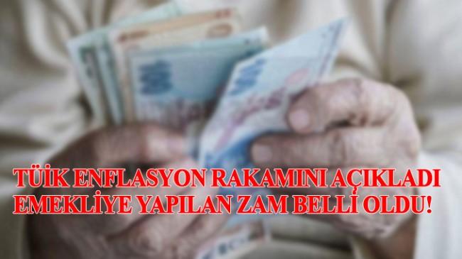 Emeklilerin zammı TÜİK yetkililerinin iki dudağı arasında belli oldu!