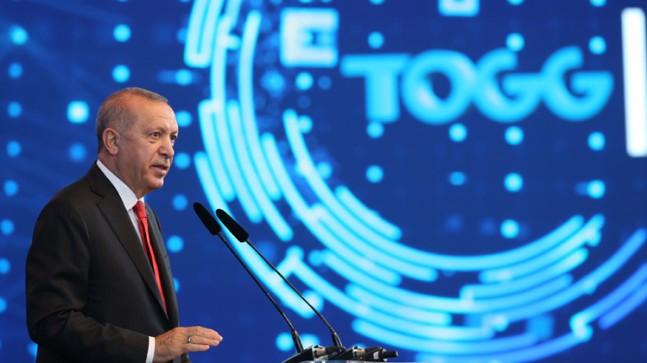 """Erdoğan, """"60 yıllık hayalimiz gerçek oldu"""""""