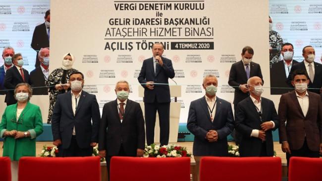 """Erdoğan, """"Ne kadar uğraşırlarsa uğraşsınlar bu defa Türkiye'nin şahlanışını durduramayacaklar"""""""