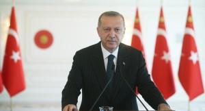 """Erdoğan, """"Yeni dönemin parlayacak yıldızı olarak Türkiye gösteriliyor"""""""